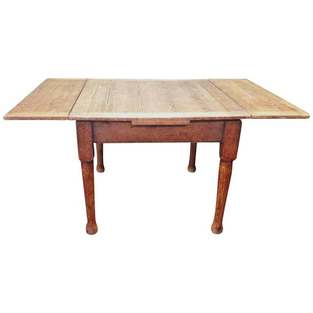 Farm House Dining Table With Leaves - Image 1 of 4