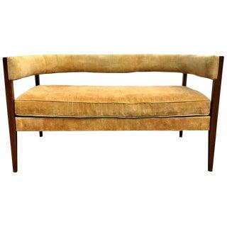 Rare Modernist Settee Designed by John Van Koert Drexel Counterpoint For Sale