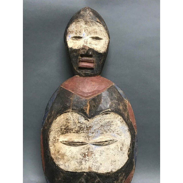 Tribal African Tribal Art Kwele Mask For Sale - Image 3 of 7