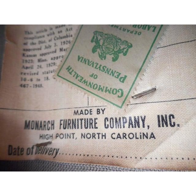 Animal Skin Mid-Century Modern Vinyl Barrel Back Chairs For Sale - Image 7 of 10