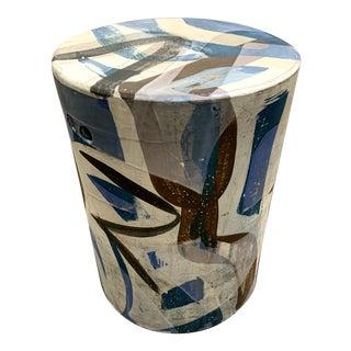 Reinaldo Sanguino Ceramic Side Table For Sale