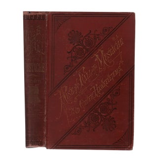 """1877 """"First Printing, the Rise and Fall of the Mustache"""" Collectible Book For Sale"""