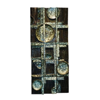 Sculptural Wall 4 For Sale