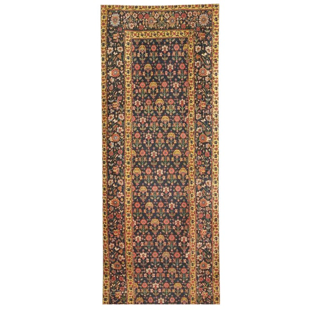 Exceptional Antique Early 19th Century Persian Joshegan Runner - Image 1 of 2