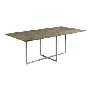 Woodbridge Annadel Classic Hammered Dining Table For Sale