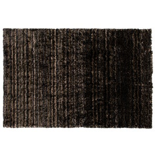 Stark Studio Rugs Contemporary Indian Hand Woven 50% Cotton/50% Polyester Rug - 5′6″ × 8′6″ For Sale