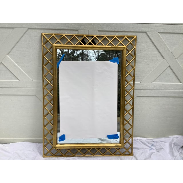 Regency Style Gilt Wood Mirror For Sale - Image 10 of 10