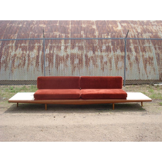 Adrian Pearsall-Style Platform Sofa - Image 2 of 11