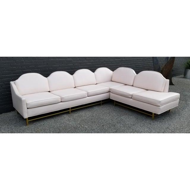 "Kipp Stewart and Stewart McDougall Mid-Century Modern ""Suncoast"" Sectional Sofa For Sale - Image 11 of 13"