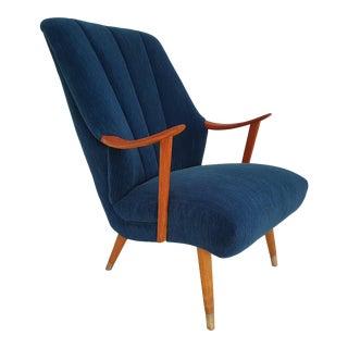 1970s Vintage Teakwood Danish Armchair For Sale
