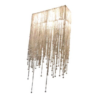 Wall Mount Glass Bead Lamps - a Pair