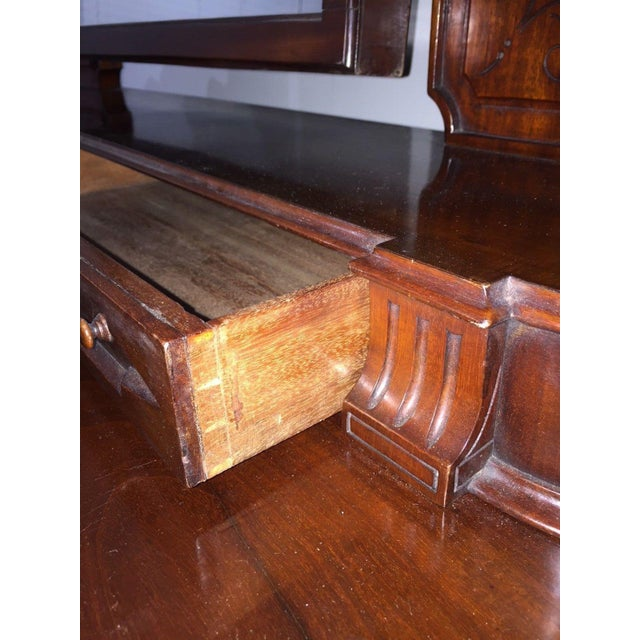 Glass 19th Century Victorian Mahogany Duchess Dressing Table For Sale - Image 7 of 12