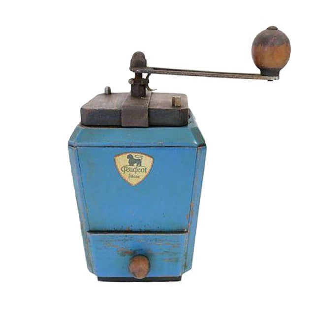 Vintage French Peugeot Le Ric Coffee Grinder - Image 1 of 4