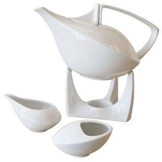 Friesland Porcelain Tea Set - 4 Pieces For Sale