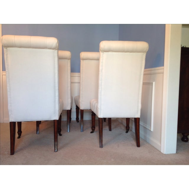 Barclay Butera Tufted Dining Chairs - Set of 4 - Image 5 of 7