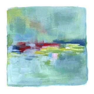 "Original Abstract Modern ""Summer Field"" Painting"