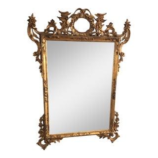Antique , Neo Gothic Gilt Gold Mirror