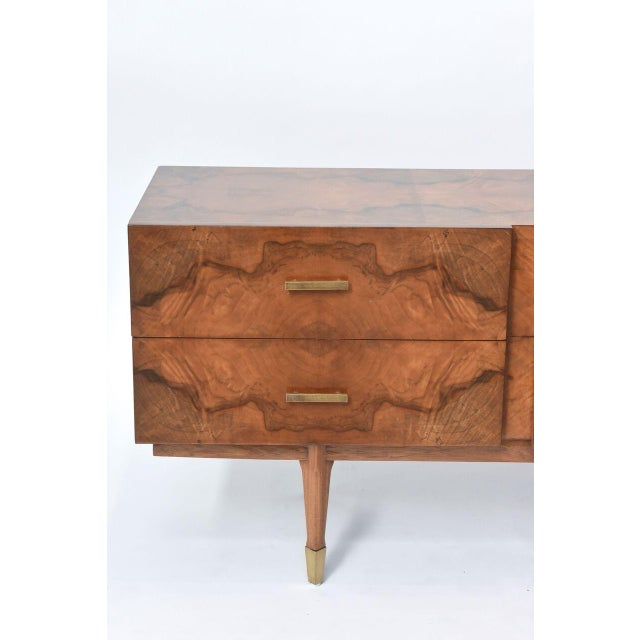 Illustration Italian Modern Root Wood Six-Drawer Buffet or Chest of Drawers For Sale - Image 3 of 8