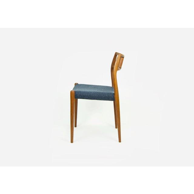 Niels Moller Niels O. Møller Teak Model 79 Dining Chairs - Set of 4 For Sale - Image 4 of 12