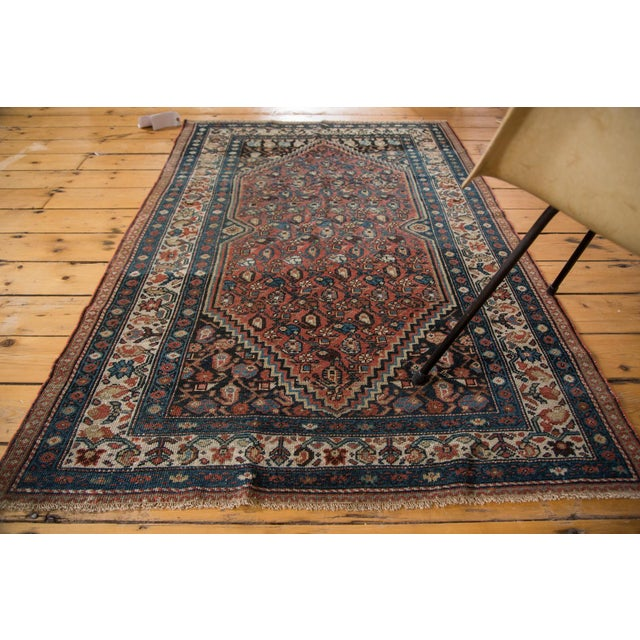 "Islamic Vintage Persian Malayer Rug - 3'8"" X 5'6"" For Sale - Image 3 of 8"
