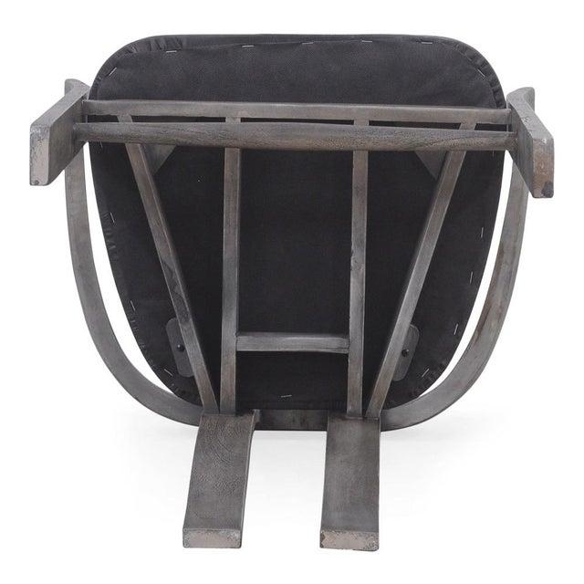 Acacia, Leather - Moleskin Grey