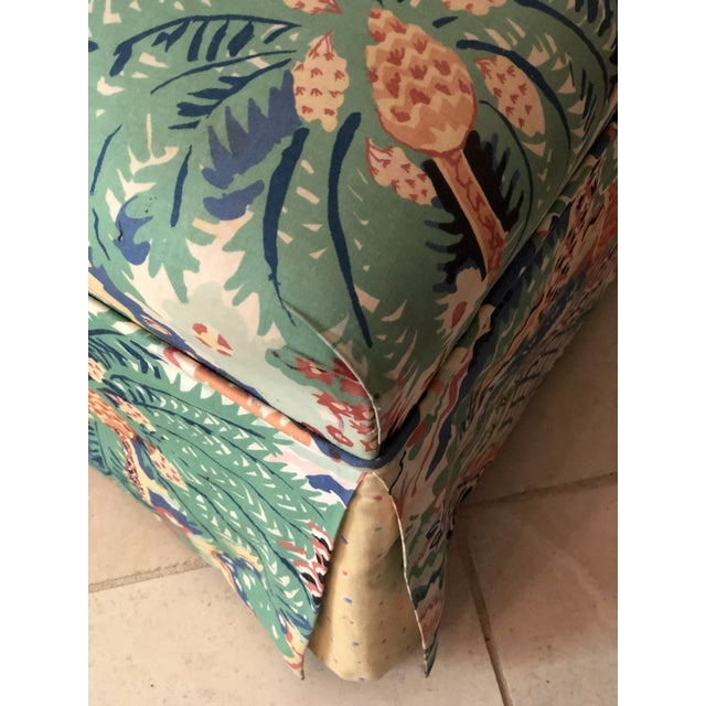 Boho Chic Style Upholstered Vanity Chair For Sale - Image 10 of 13