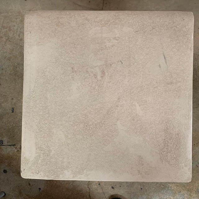 Ceramic 1980s Italian Kreiss Collection Ionic Column Table For Sale - Image 7 of 10