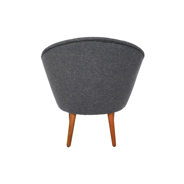 Bent Møller Jepsen Wool Lounge Chair - Image 2 of 8
