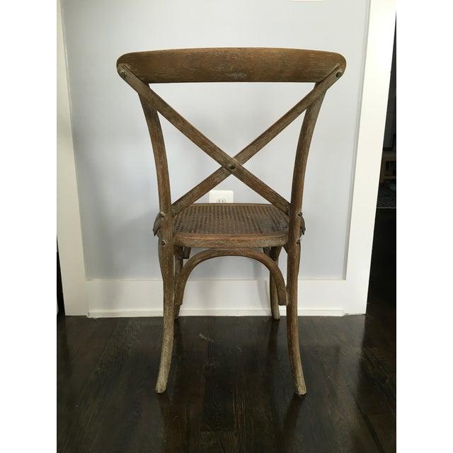 Brown Restoration Hardware Madeleine Side Chair For Sale - Image 8 of 10