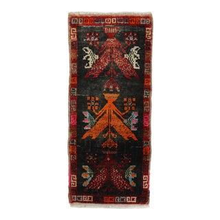 Tribal Mini Turkish Rug, 1'3'' X 2'11'' For Sale