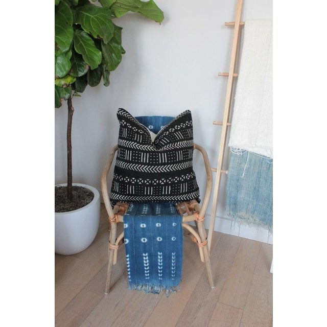 Black & White African Mudcloth Pillow Cover - Image 3 of 3