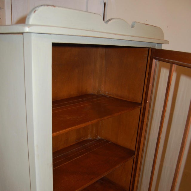 Antique Painted Display Cabinet - Image 9 of 10