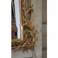 19th Century Carved Chippendale Style Gilt Mirror - Image 6 of 6