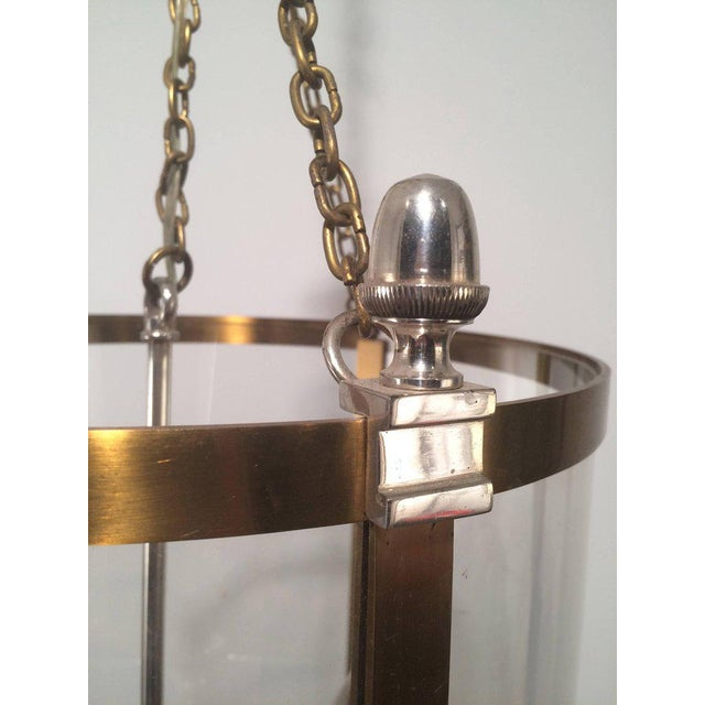 1970s French Neoclassical Style Hanging Lantern - Image 5 of 10