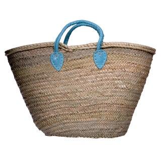 Blue Strap Market Basket