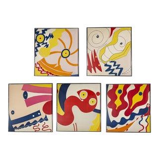 Spirit Woman Suite Prints - Set of 5 For Sale