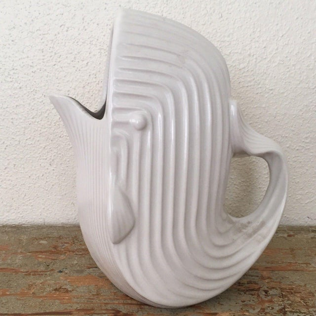 Jonathan Adler Signed White Whale Pitcher - Image 6 of 6