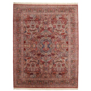 RugsinDallas Chinese Persian Design Hand Knotted Wool Rug- 10′ × 13′ For Sale