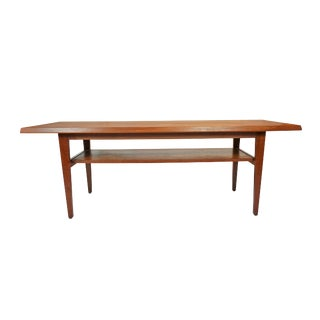 Danish Mid-Century Teak Coffee Table
