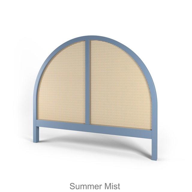 Eva Headboard - Queen - Summer Mist Blue For Sale In Los Angeles - Image 6 of 6