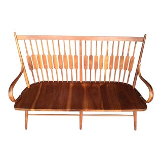 Mid Century Modern Kipp Stewart for Drexel Declaration Settee Bench For Sale