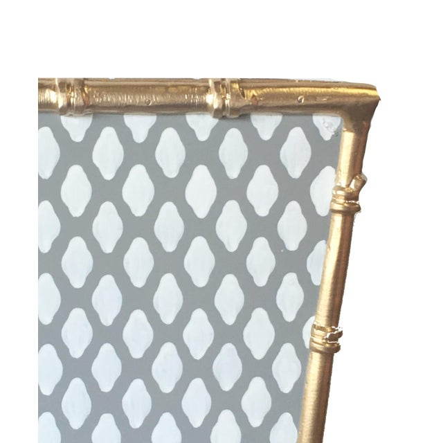 Bamboo detail wastebasket. Classic pattern on a durable wastepaper basket. Free shipping included!