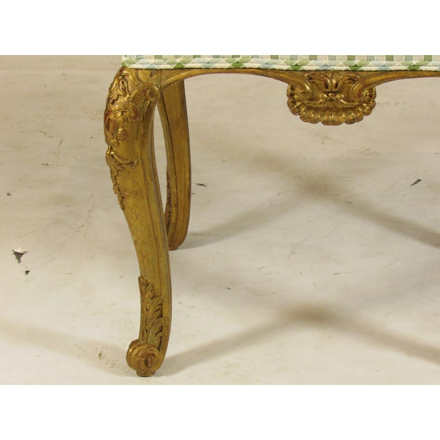 19th C. Vintage French Bench Seat For Sale - Image 4 of 10