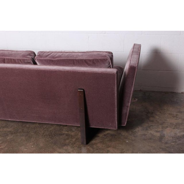 Mid-Century Modern Split Arm Sofa by Edward Wormley for Dunbar For Sale - Image 3 of 10