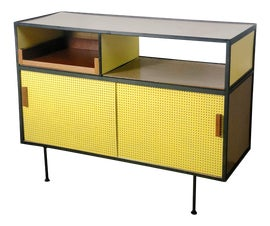 Image of Canary Yellow Storage Cabinets and Cupboards