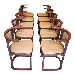 Joseph Hoffman Kohn 421 Dining Chairs - Set of 10