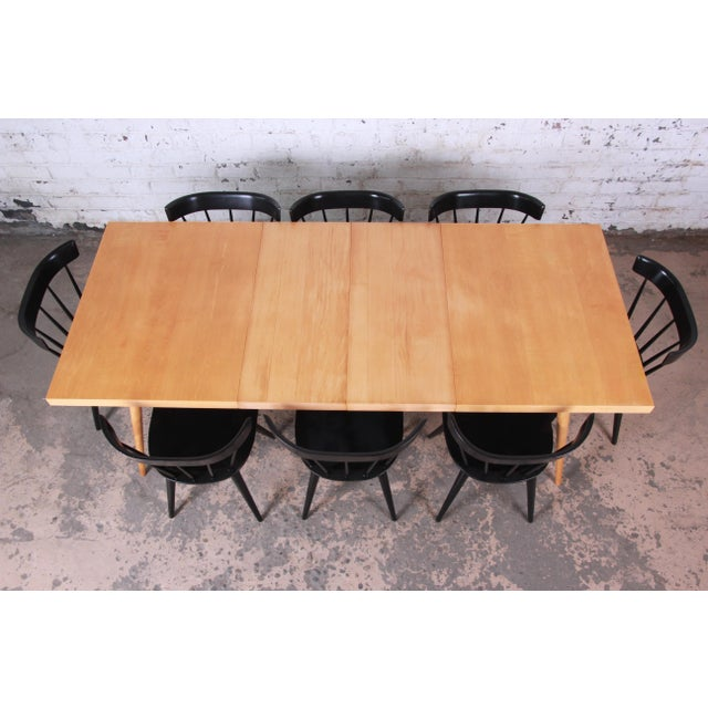1950s 1950s Paul McCobb Planner Group Mid-Century Modern Dining Set For Sale - Image 5 of 13