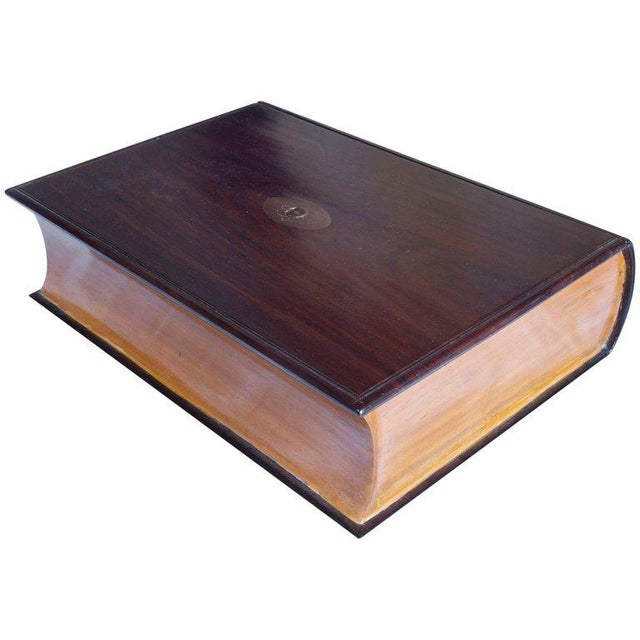 Satinwood and Rosewood Book Box For Sale In Nantucket - Image 6 of 6
