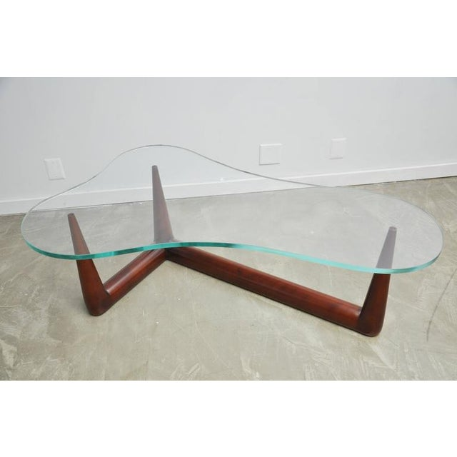 Biomorphic Coffee Table by T.H. Robsjohn Gibbings for Widdicomb - Image 2 of 6