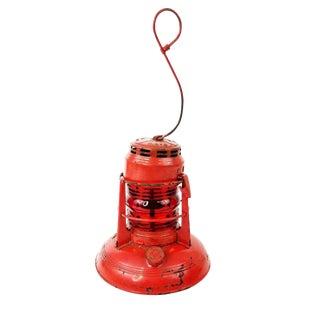 Vintage Dietz No 40 Traffic Gard Red Utility Lantern For Sale